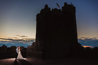 Anne-Marie + Colm. Cloghan Castle Wedding Photographer.
