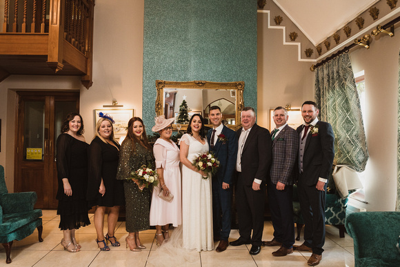 Oranmore Lodge Hotel Wedding
