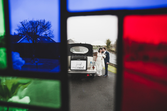 Beautiful Irish wedding in Cloghan Castle